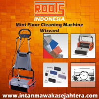 Mini Floor Cleaning Machine ROOTS Scrub Wizzard Electric