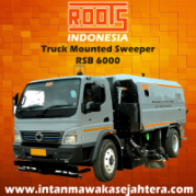 Truck Mounted Sweeper ROOTS RSB 6000