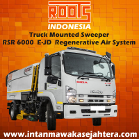 Truck Mounted Sweeper ROOTS RSR 6000 E-JD Regenerative Air System