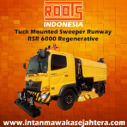 Tuck Mounted Sweeper Runway  RSR 6000 Regenerative