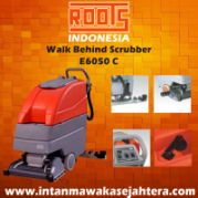Walk Behind Scrubber ROOTS E/B 6060
