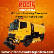 Tuck Mounted Sweeper Runway  RSRW 9500 Regenerative
