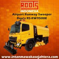 Tuck Mounted Sweeper Runway  RSRW 9500 Regenerative