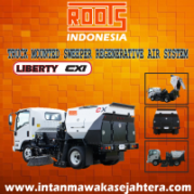 Truck Mounted Sweeper Liberty CXI Regenerative Air System