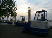 3 Unit Ride On Sweeper ROOTS RHINO RD 160 @Ancol