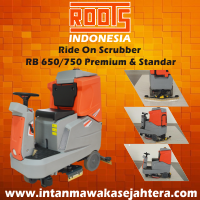 Ride On Scrubber ROOTS RB 650&750 Standar