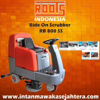 Ride On Scrubber ROOTS RB 800 SS