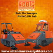 Ride On Sweeper ROOTS Rhino RD 160