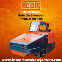 Ride On Sweeper ROOTS Rhino RD 180