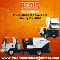 Truck Mounted Sweeper ROOTS Liberty DX 4000 Air Syestem