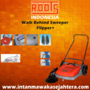 Walk Behind Sweeper ROOTS Flipper+