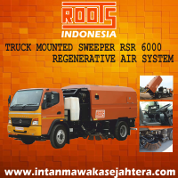TRUCK MOUNTED SWEEPER RSR 6000 REGENERATIVE AIR SYSTEM