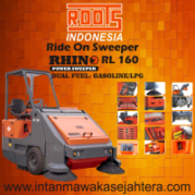 Ride On Sweeper Rhino RL 160